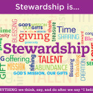 Stewardship Sunday January 10th